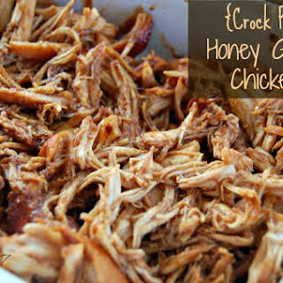 Crock Pot Honey Garlic Chicken.