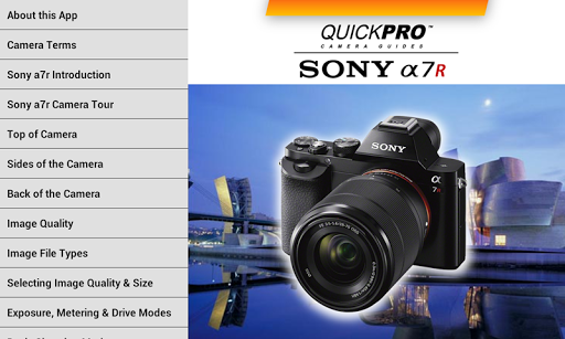 Sony a7r from QuickPro