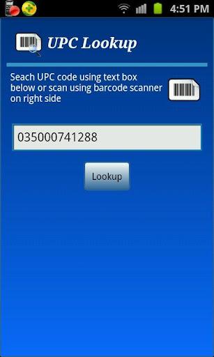 UPC Lookup