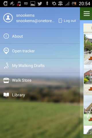 iFootpath - Made for Walking - screenshot