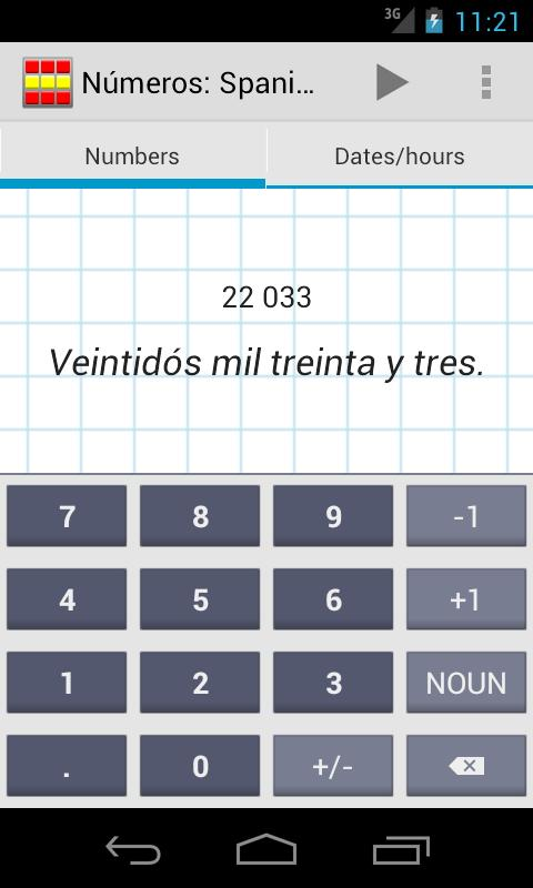 Números: Spanish Numbers - screenshot