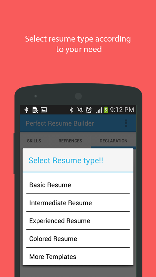 resume builder android apps on play