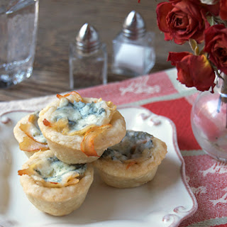 Bleu Cheese Chicken Tartlets