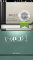 Screenshot of DioDict 4 ENG-KOR Dictionary