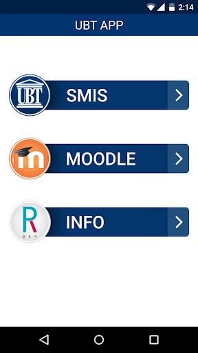 UBT APP - Moodle dhe Smis