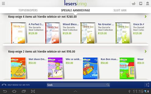 Leserskring vir Tablet- screenshot thumbnail