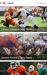 Clemson Tigers- screenshot thumbnail