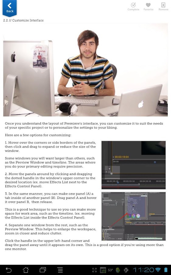 Learn Premiere Pro 5.5 - screenshot