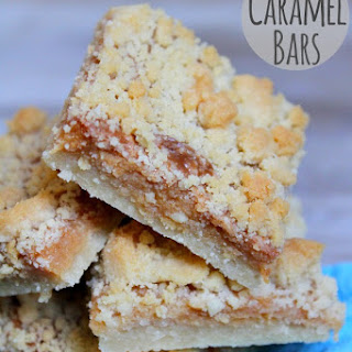 Caramel Bars with Crumb Topping