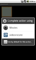 Screenshot of videorocate(動画を回転できるプレーヤー)