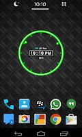 Screenshot of Neon Clock Widget