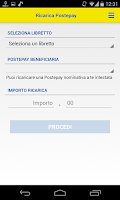 Screenshot of Risparmio Postale