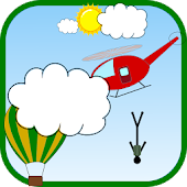 Stickman Parachute Action