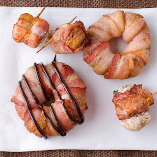 Bacon Wrapped Donuts – Doinks.
