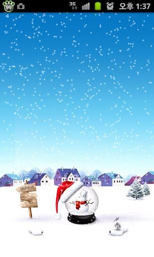 [토스] 크리스마스 테마 라이브 배경화면