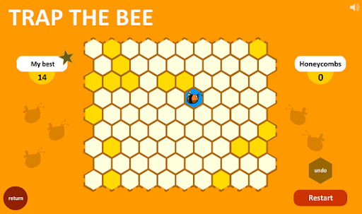 Trap The Bee