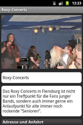 Roxy-Concerts- screenshot