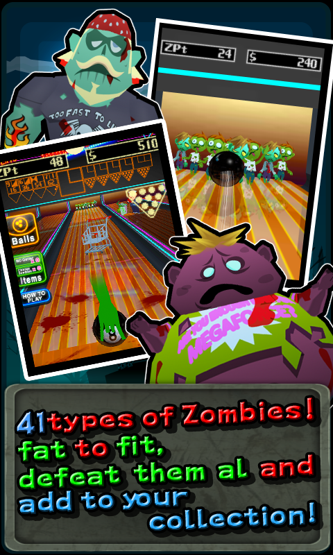 Bowling Zombie !- screenshot