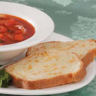 Garlic Cheese Quick Bread.