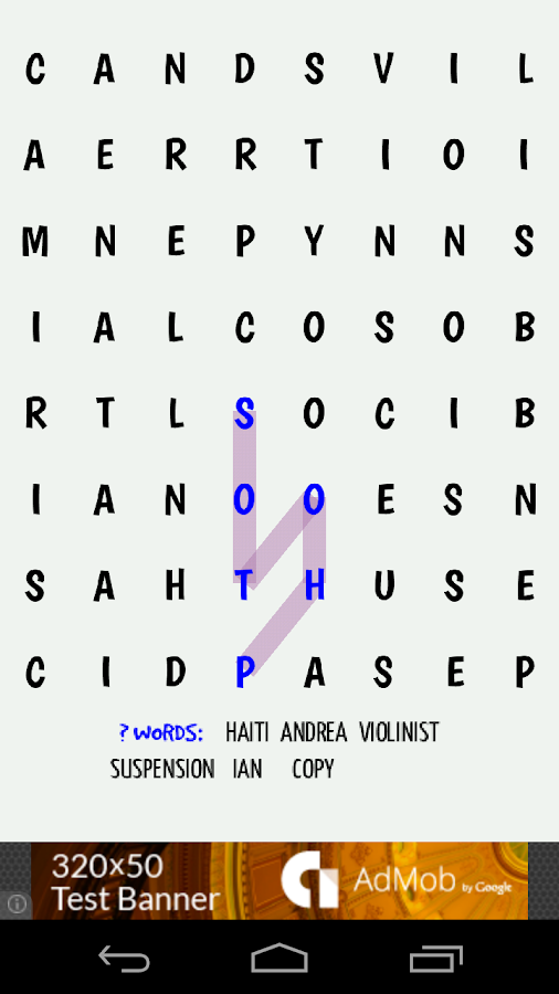 Twisty Word Search Puzzle 2- screenshot