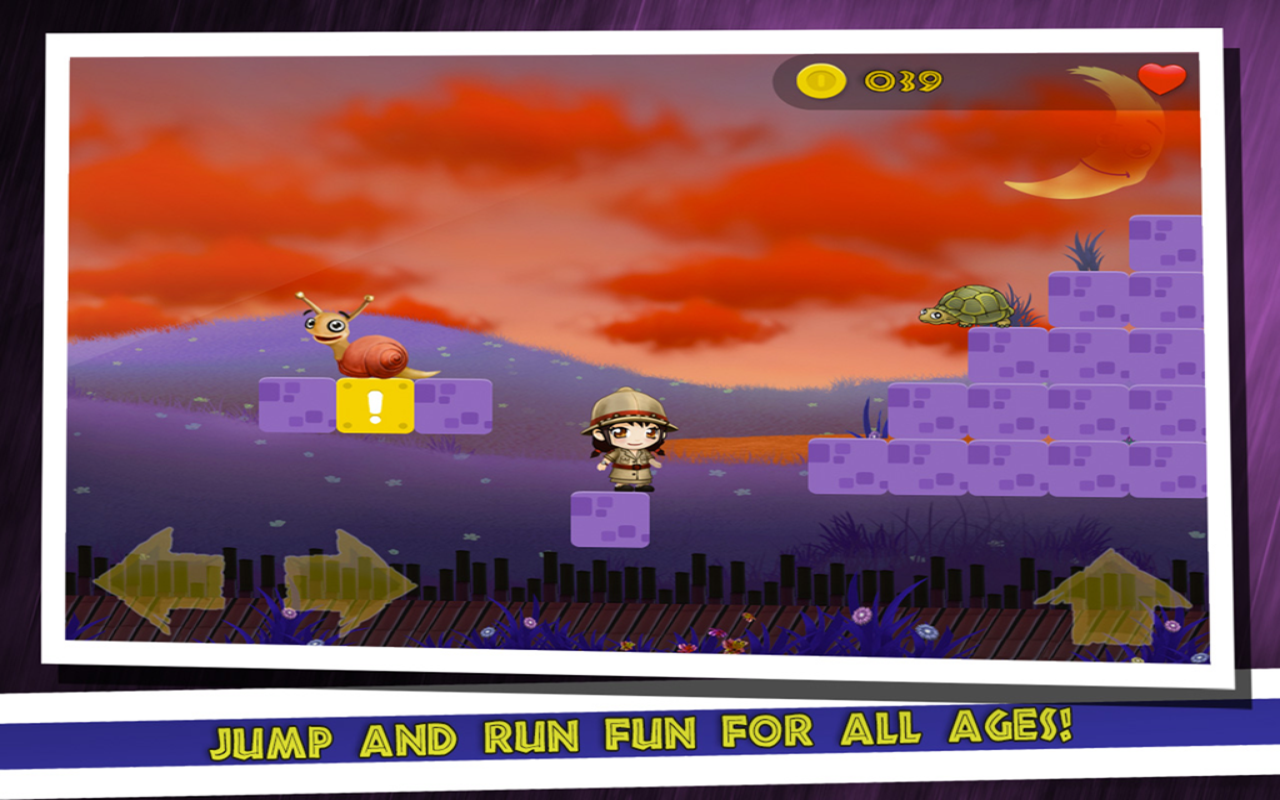 Sophia's World: Jump And Run - screenshot