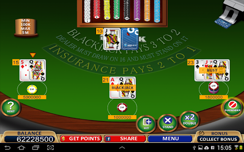 Blackjack 21+ Casino Card Game v1.0.0.12