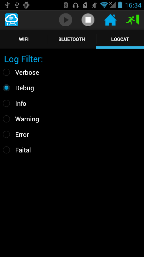 Logcat Wireless- screenshot