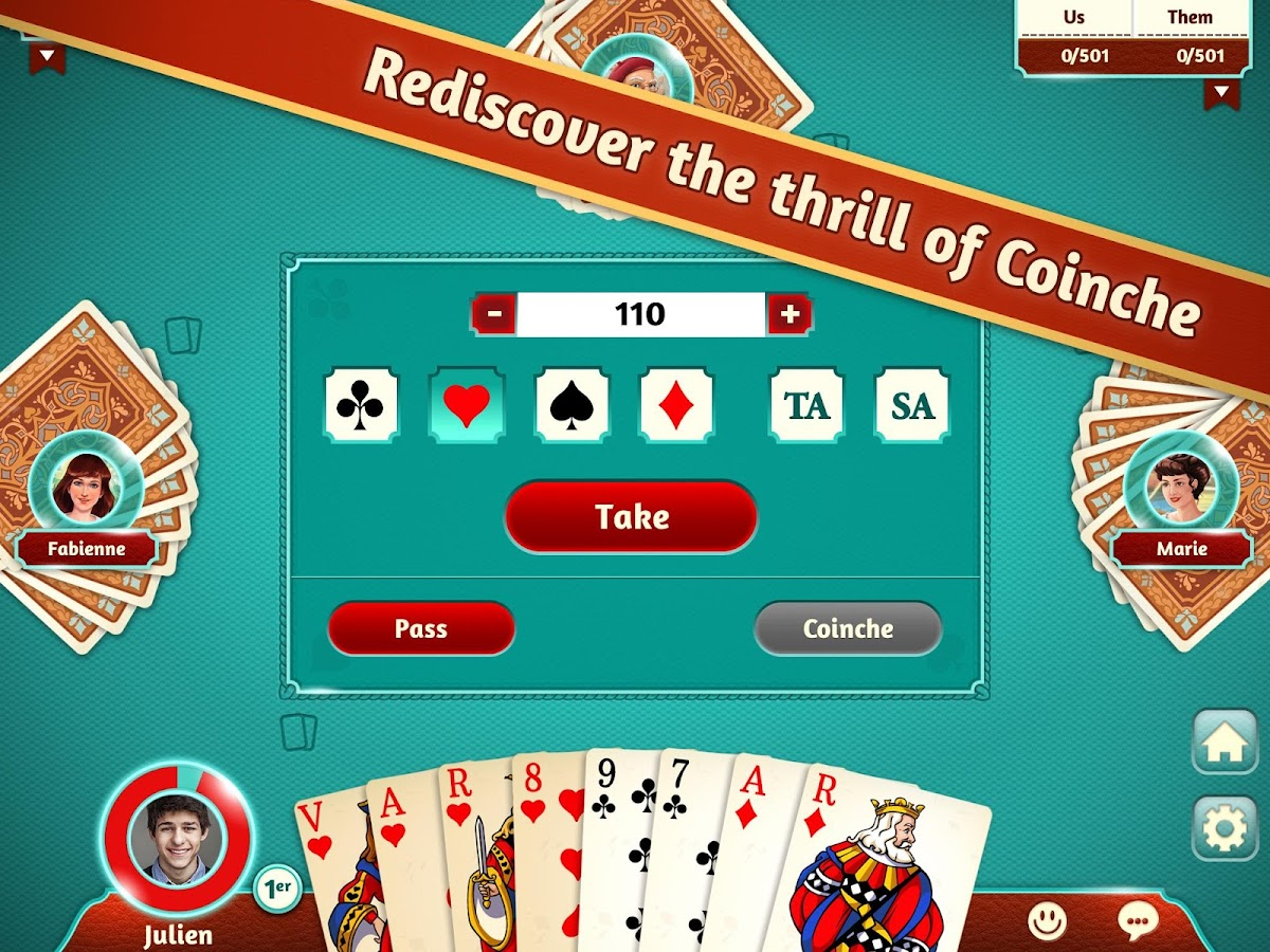 Dec 06,  · wheelpokemon7nk.cf – rediscover the Belote, and Coinche, that you grew up with! Download this improved card game now. Join France's biggest Belote wheelpokemon7nk.cf Classic or Coinche Belote modes, whether you're a beginner or a Belote genius, you'll find the perfect opponent in this free multiplayer game. FEATURES/5(K).