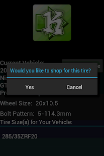What's My Tire Size?- screenshot thumbnail