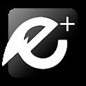 EvolveSMS Theme - E+ Black icon