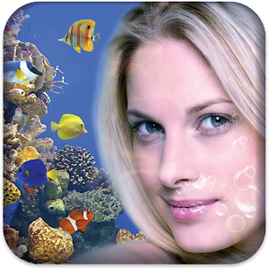 Aquarium Photo Frame LWP Icon