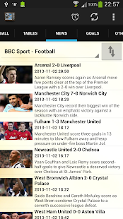 Football on TV - screenshot thumbnail