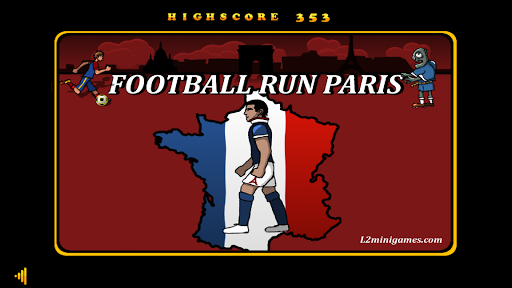 Football Run Paris