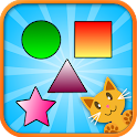 QCat - toddler shape game