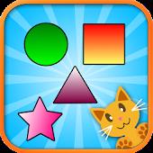 QCat - toddler shape game