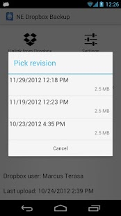 NE Online Backup - screenshot thumbnail