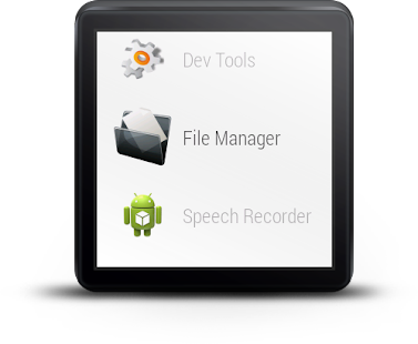 File Manager For Android Wear- screenshot thumbnail