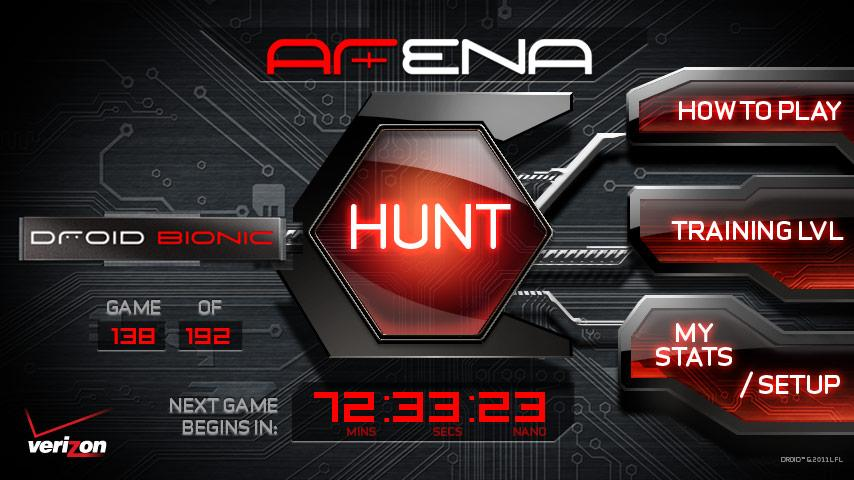 Droid Bionic ARena - screenshot