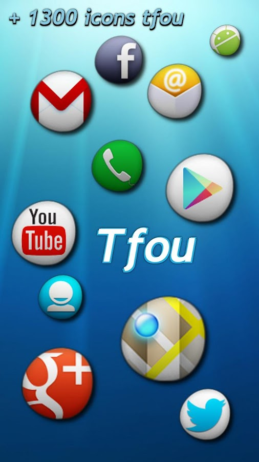 Tfou Theme GO/Apex/Nova HD - screenshot