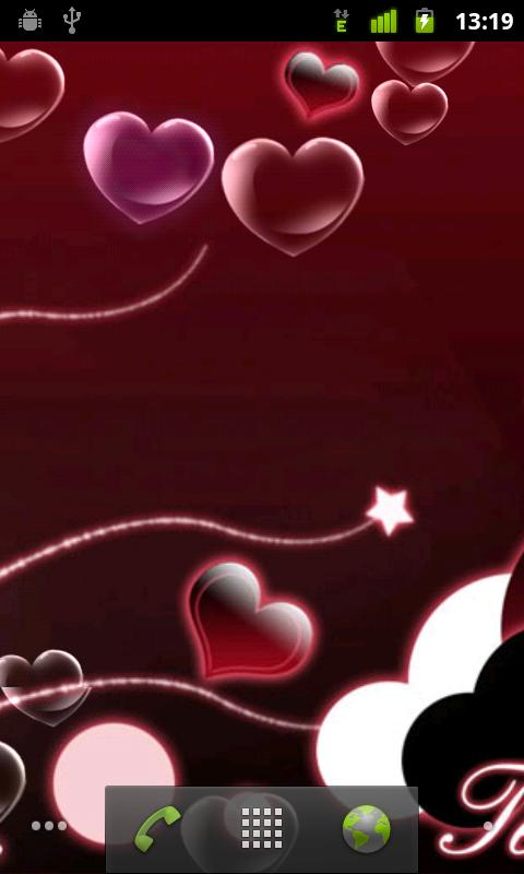 Sweet Heart Live Wallpaper - screenshot
