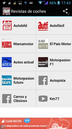 Revistas de coches automóviles