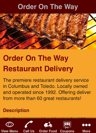 Order On The Way Food Delivery
