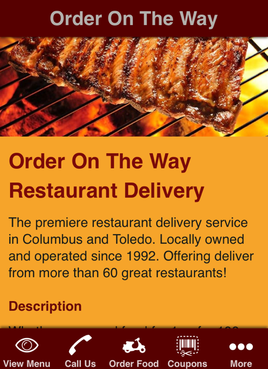 Food Delivery Service Columbus Ohio
