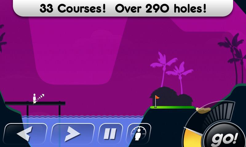 Super Stickman Golf screenshot #1