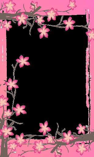 玩個人化App|Sakura Flower Photo Frame HD免費|APP試玩
