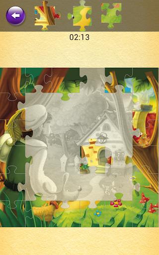 玩娛樂App|Little Red Riding Hood Jigsaw免費|APP試玩