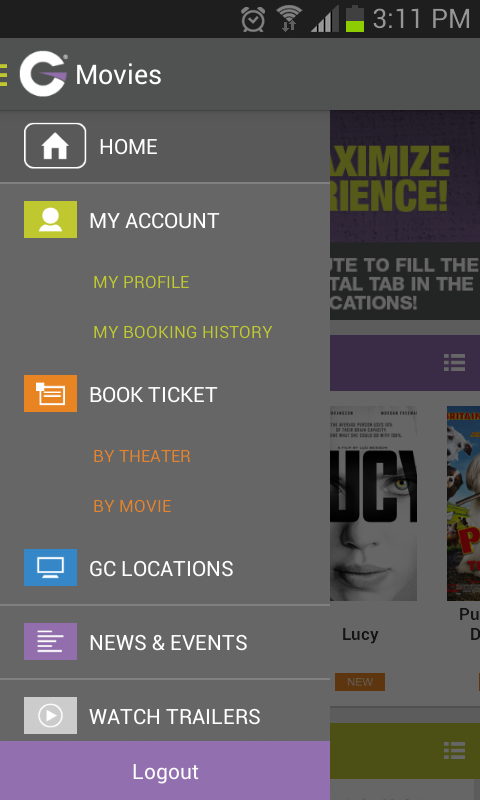 Grand Cinemas Lebanon- screenshot