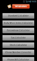 Screenshot of All in 1 Calculator
