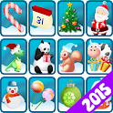Mahjong Holiday Joy 2015 icon