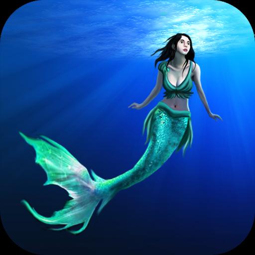 美人鱼比赛3D 冒險 LOGO-玩APPs